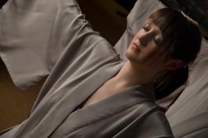 Japanese Kimono Silk Nightwear Line 'Twilight'