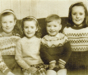 A sweater for everyone! My Granny also knitted all our baby shawls...